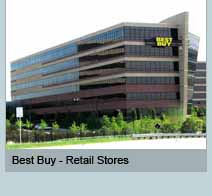 Best Buy Retail Stores in multiple locations.