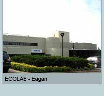 ECOLAB building in Eagan, MN